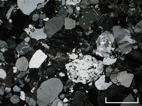 quartz thin section cambridge rocks minerals fossils