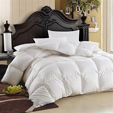 What Is The Size Of A Comforter by Luxurious King Cal King Size Siberian Goose