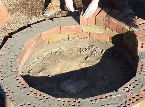 backyard diy fire pit build a brick fire pit for your backyard the owner