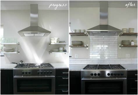 Installing Subway Tile Backsplash In Kitchen by House Tweaking