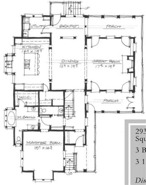 allison ramsey floor plans allison ramsey architects qualla 2939 sqaure foot