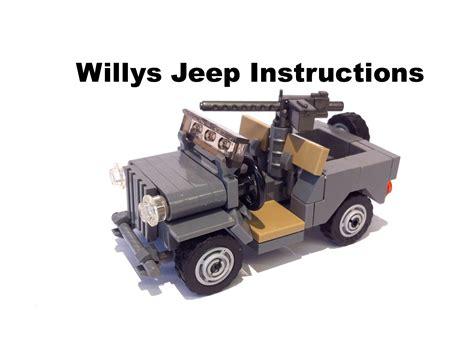 lego army jeep lego willys jeep