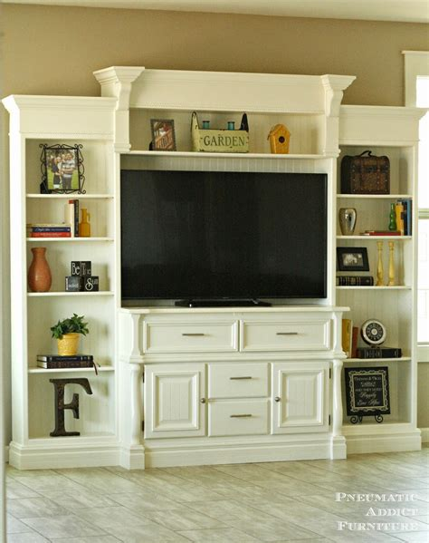 diy wall unit entertainment center pneumatic addict diy entertainment center