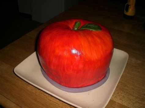 amazing apple cake   decorate  food shaped cake