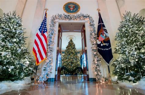 trump white house decorations christmas decorations at white house the daily caller