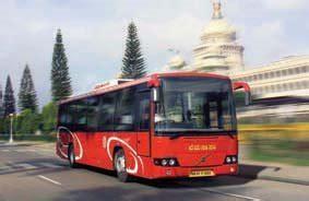 volvo trucks bangalore volvo to supply 240 city buses to bmtc