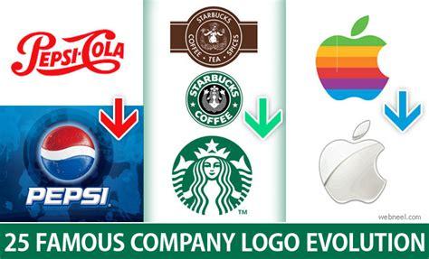 logo symbols for companies 25 company logo evolution graphics for your inpsiration