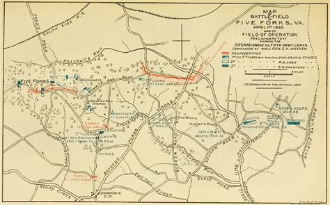 Massachusetts Records After 1915 Message Traffic Between Grant Meade And Warren Of March 31 April 1 1865
