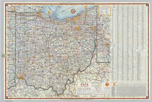 Ohio Road Map by Ohio Road Map Images