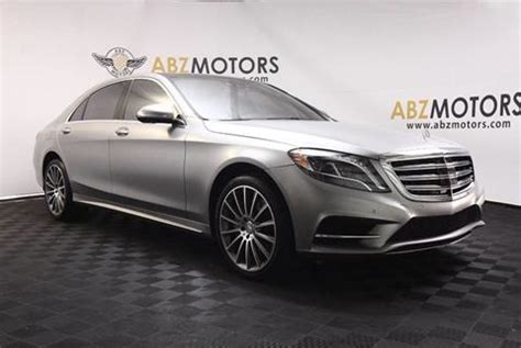 Used Mercedes For Sale In Houston Tx by Used Mercedes S Class For Sale In Houston Tx