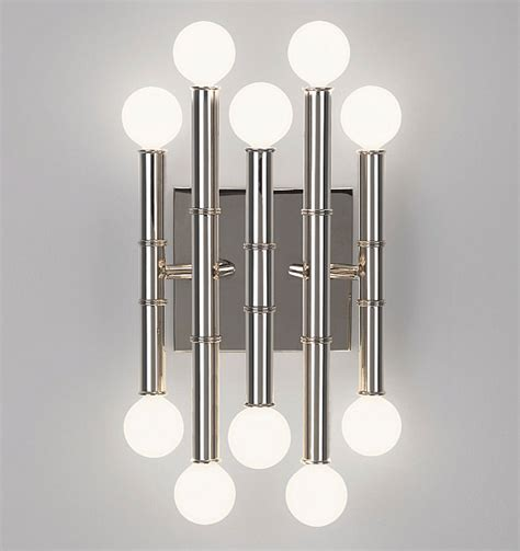 Bamboo Wall Sconces Sconce Lighting For The Modern Home