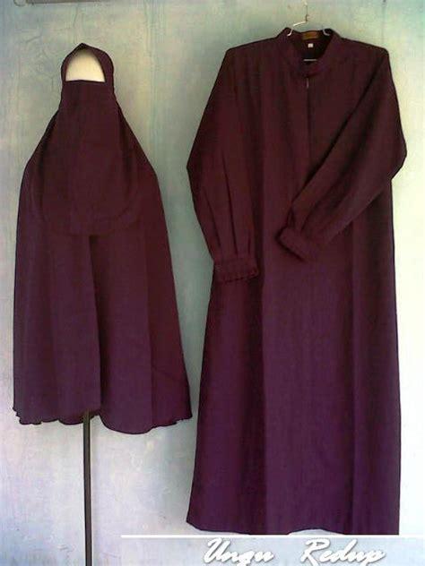 Stelan Abaya Gamis Muslim 3 grosir setelan jilbab cadar al fajr baju muslim s