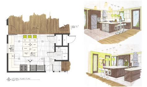 interior design drafting pin student design project bfa thesis on