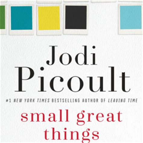 Jodi Picoult Leer The Page Hardcover small great things random house books