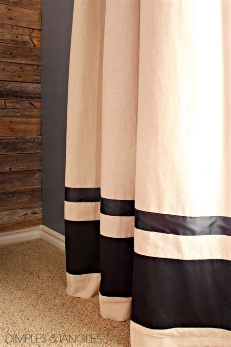 how to add length to curtains customize ikea curtain panels how to add length and