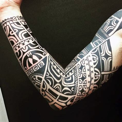 tribal pattern tattoo sleeves 90 tribal sleeve tattoos for men manly arm design ideas