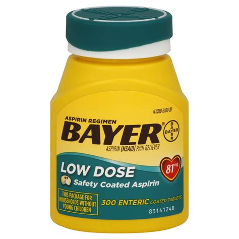 low dose aspirin for dogs bayer aspirin 325 mg coated tablets 200 tablets health wellness medicine