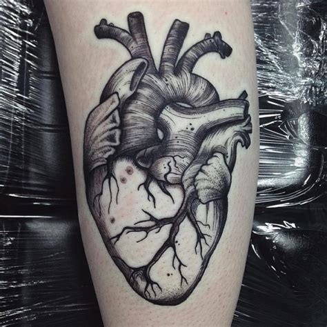 45 beautiful anatomical heart tattoo designs the art of