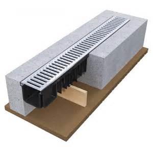 linear drainage system hdpe grating xdrain devorex 50cm