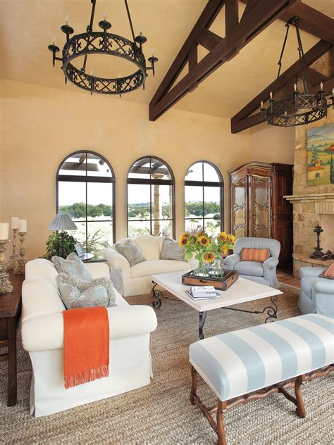 mediterranean living rooms mediterranean living space photos hgtv