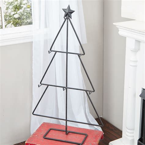 metal tree display stand trees and toppers christmas