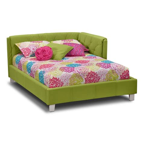 full beds for kids jordan full corner bed green value city furniture