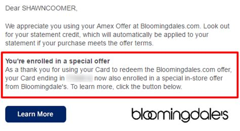 Bloomingdales E Gift Card - amex offers daisy chain how the new bloomingdale s amex offer triggers yet another
