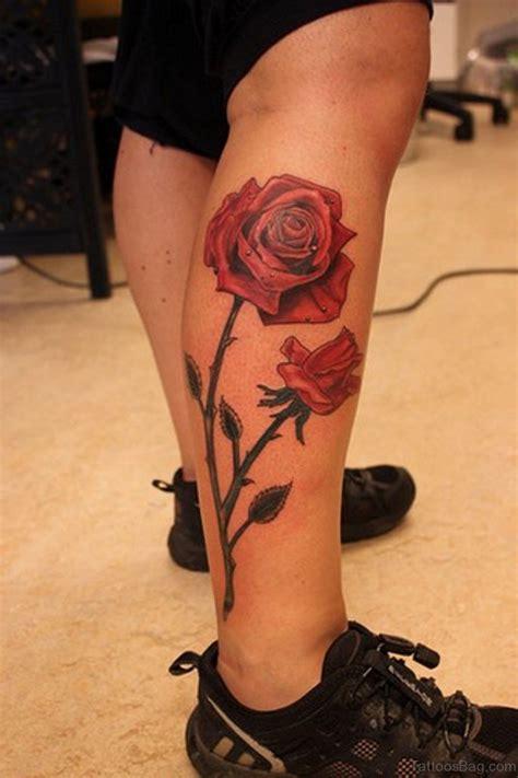 tattoo roses on legs 36 fancy tattoos on leg