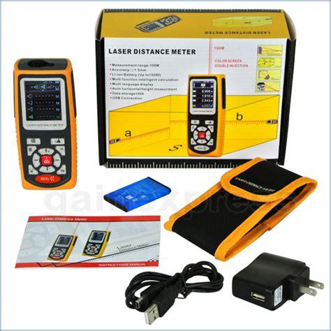 Nama Alat Ukur Ph Air alat pengukur jarak distance meter laser ldm 100x