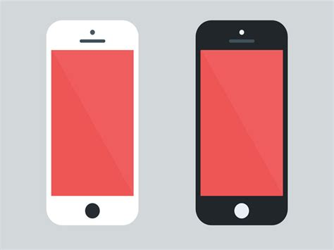 design graphics on iphone freebie flat iphone 5 mockup free psd ui download