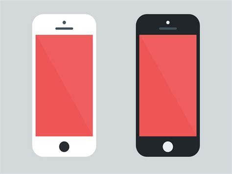 iphone layout mockup dribbble freebie flat iphone 5 mockup by othmane machrouh
