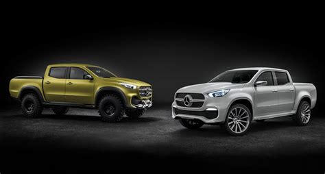 Facts About Mercedes 15 Facts About The New Mercedes X Class