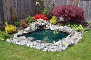 Backyard Pond Ideas Small 37 Backyard Pond Ideas Designs Pictures