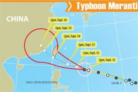 taiwan new year weather strongest typhoon of the year hits taiwan and china