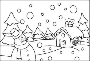 Coloring pages for kids eiq printable winter coloring pages for