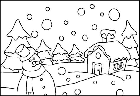 Winter Snowboarding Pages Coloring Pages Snow Coloring Pages