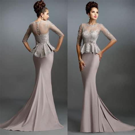 Setelan Kebaya Cape Light Grey selling mermaid of the dresses 2015