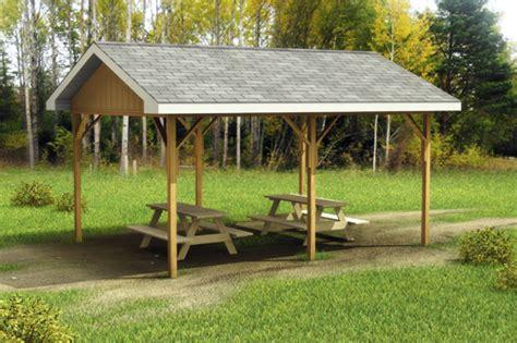 picnic pavilion plans plans diy free download wood gumball custom building package kits open pavilions