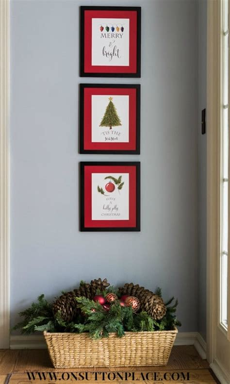 printable christmas wall decorations 15 free printables everyone will pretty my