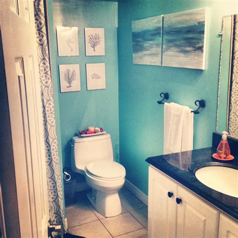 ocean themed bathroom ideas andr 233 e s quick n easy bathroom makeover marketplace events