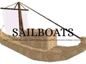 sailboats mesopotamia mesopotamian inventions by jacob toler
