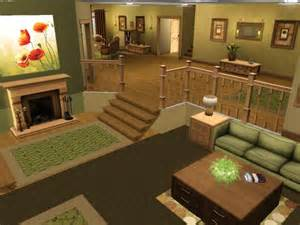 Two Level Living Room by Tarenava S Legacy Flip S Sims 3 Page