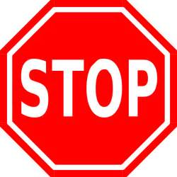 Image result for image of stop sign