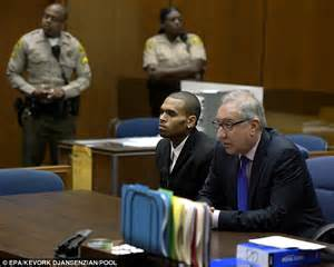 Virginia Probation Office by Judge Orders Chris Brown To 1 000 More Hours Of Community