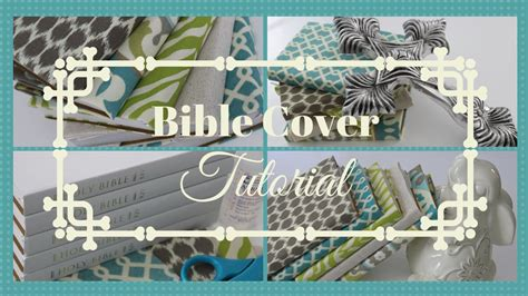 diy cover pattern easy bible cover tutorial