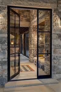 Exterior Metal Doors With Glass Doors Steel Windows And Steel On