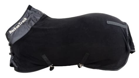 back on track rugs for horses back on track therapeutic fleece supreme rug for horses black outdoorandabout