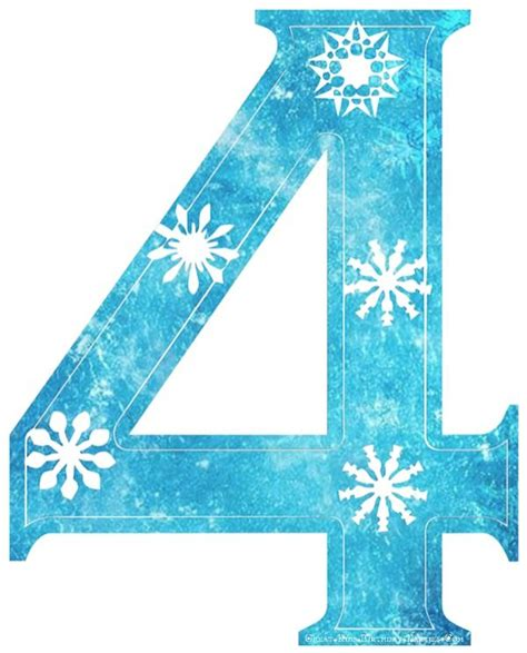 printable numbered snowflakes frozen font snowflake numbers with frozen background cute