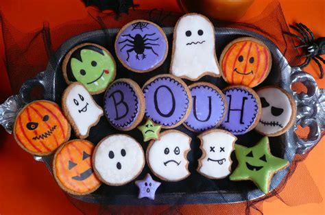 Biscuit Cake mon buffet halloween 3 sabl 233 s halloween
