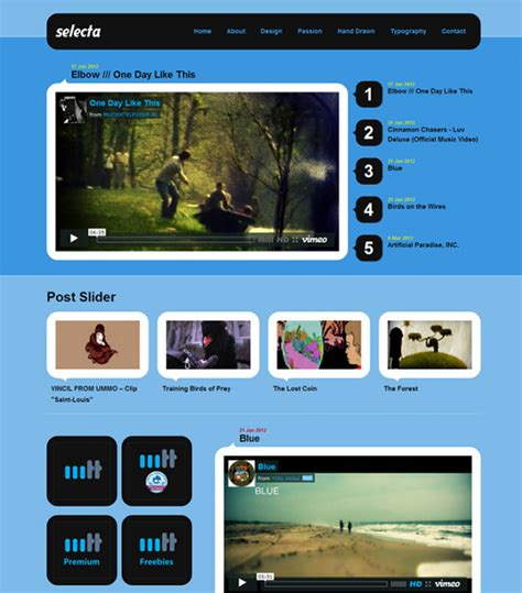 drupal themes bluemasters a showcase of amazing drupal themes